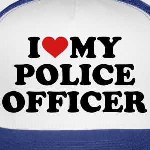 Police officer Kids' Shirts - Trucker Cap