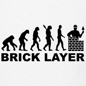 Brick layer Mugs & Drinkware - Men's T-Shirt