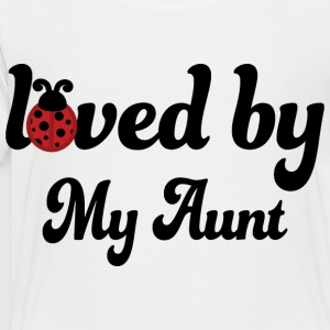 Aunt Gift for Niece Cute Kids' Shirts - Toddler Premium T-Shirt