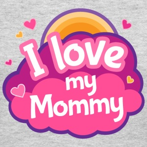 I Love Mommy Mother Gift Kids' Shirts - Women's Long Sleeve Jersey T-Shirt