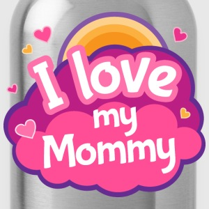 I Love Mommy Mother Gift Kids' Shirts - Water Bottle