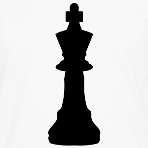 Chess king Buttons - Men's Premium Long Sleeve T-Shirt