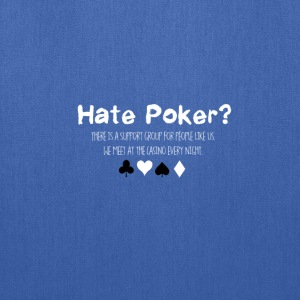 Hate Poker - Tote Bag