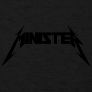 Minister (Rock Band Style) Sportswear - Men's T-Shirt
