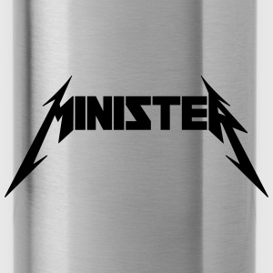 Minister (Rock Band Style) Sportswear - Water Bottle