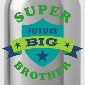 Super Future Big Brother Baby Bodysuits - Water Bottle