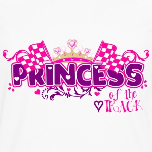 Princess of the Track - Men's Premium Long Sleeve T-Shirt