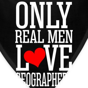 Only Real Men Love Geographers T-Shirts - Bandana