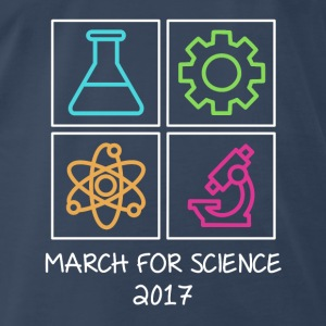 March For Science 2017 Tanks - Men's Premium T-Shirt