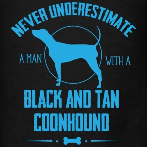 Black and Tan Coonhound Hoodies - Men's T-Shirt