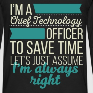 Chief Technology Officer - I'm a Chief Technology  - Men's Premium Long Sleeve T-Shirt