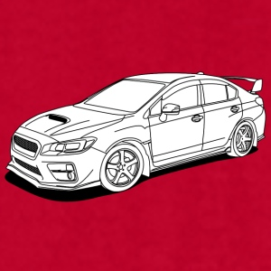 Subaru wrx sti white Mugs & Drinkware - Men's T-Shirt by American Apparel