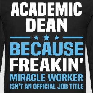 Academic Dean - Men's Premium Long Sleeve T-Shirt