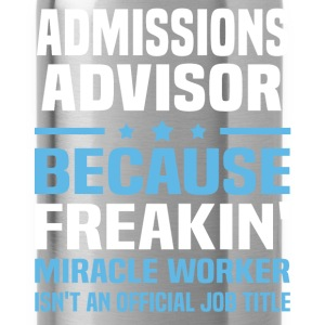 Admissions Advisor - Water Bottle