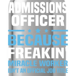 Admissions Officer - Water Bottle