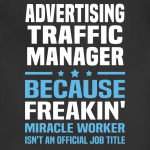 Advertising Traffic Manager - Adjustable Apron
