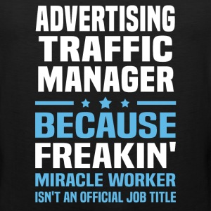 Advertising Traffic Manager - Men's Premium Tank