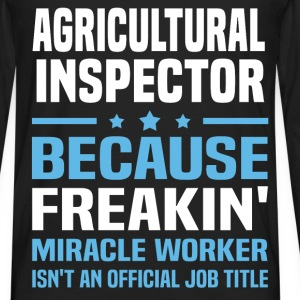 Agricultural Inspector - Men's Premium Long Sleeve T-Shirt