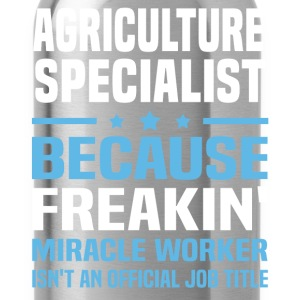 Agriculture Specialist - Water Bottle