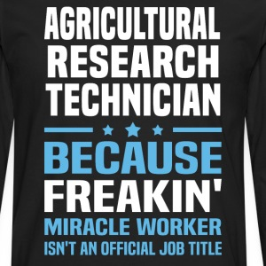 Agricultural Research Technician - Men's Premium Long Sleeve T-Shirt