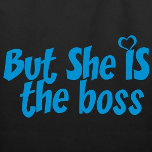 SHE IS THE BOSS - Eco-Friendly Cotton Tote