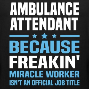 Ambulance Attendant - Men's Premium Tank