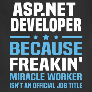 ASP.NET Developer - Adjustable Apron