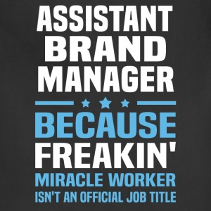 Assistant Brand Manager - Adjustable Apron