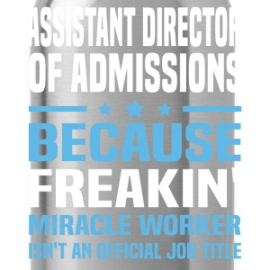 Assistant Director of Admissions - Water Bottle