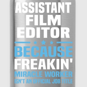 Assistant Film Editor - Water Bottle