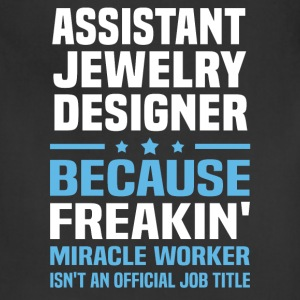 Assistant Jewelry Designer - Adjustable Apron
