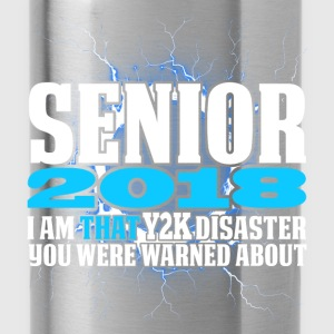 Senior 2018 Y2K Hoodies - Water Bottle