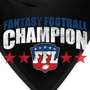 FANTASY FOOTBALL CHAMPION Women's T-Shirts - Bandana