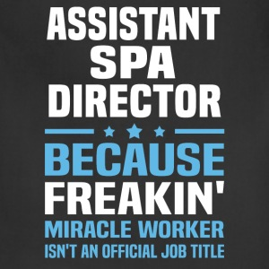 Assistant Spa Director - Adjustable Apron