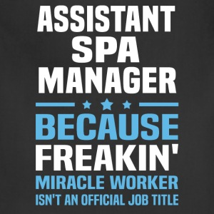 Assistant Spa Manager - Adjustable Apron