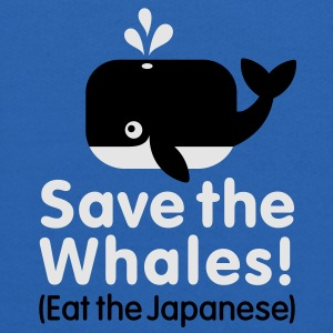 Save the Whales! Eat the Japanese Baby & Toddler Shirts - Kids' Hoodie
