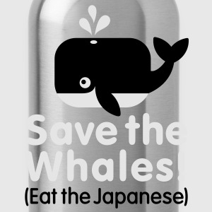 Save the Whales! Eat the Japanese Baby & Toddler Shirts - Water Bottle
