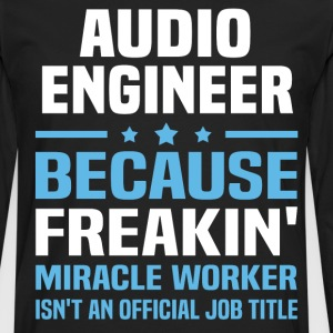 Audio Engineer - Men's Premium Long Sleeve T-Shirt