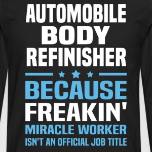 Automobile Body Refinisher - Men's Premium Long Sleeve T-Shirt
