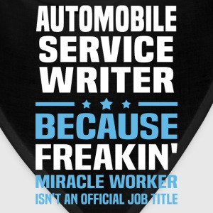 Automobile Service Writer - Bandana