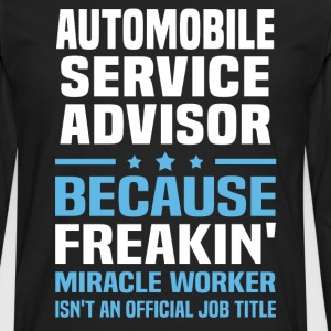 Automobile Service Advisor - Men's Premium Long Sleeve T-Shirt