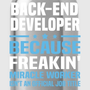 Back-End Developer - Water Bottle