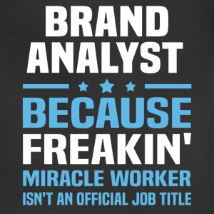 Brand Analyst - Adjustable Apron