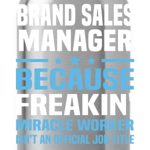Brand Sales Manager - Water Bottle