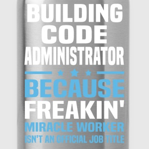 Building Code Administrator - Water Bottle