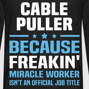 Cable Puller - Men's Premium Long Sleeve T-Shirt
