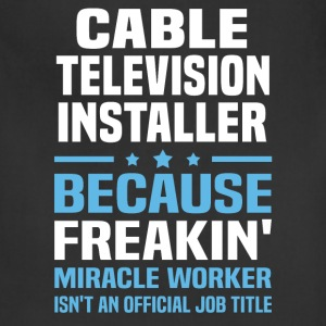 Cable Television Installer - Adjustable Apron