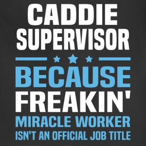 Caddie Supervisor - Adjustable Apron