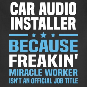 Car Audio Installer - Adjustable Apron