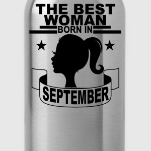 the_best_woman_born_in_september_ - Water Bottle